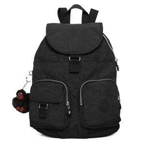 Vintage Kipling Firefly Small Backpack Black